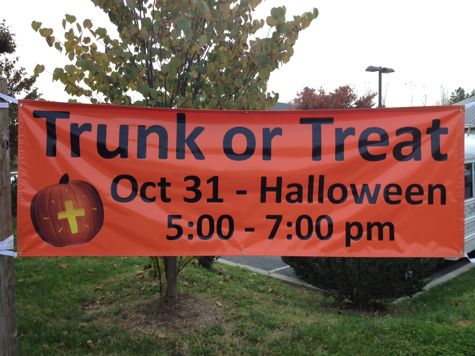 trunk or treat banner